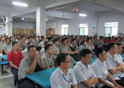 互赢机电(惠州)有限公司精益5S如火如荼开展-精益智造改善中心